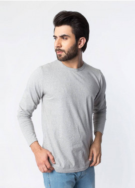 Brumano Cotton Casual T-Shirts for Men - Grey BRM-43-979