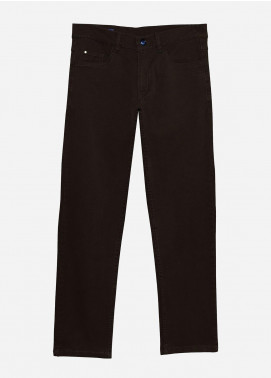 Brumano Cotton Formal Pants for Men -  BRM-021-Brown