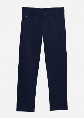 Brumano Cotton Formal Men Pants -  BRM-021-Navy