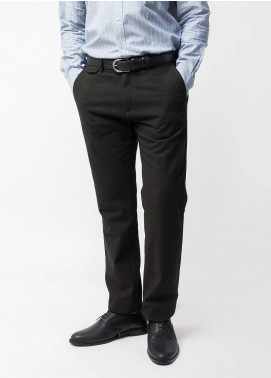 Brumano Cotton Formal Trousers for Men -  BRM-433-Charcoal