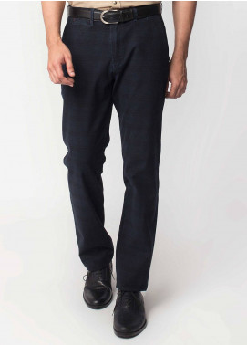 Brumano Cotton Formal Trousers for Men -  BRM-50-007-Blue