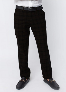 Brumano Cotton Formal Men Pants -  BRM-50-007-Brown
