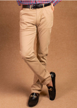 Brumano Cotton Formal Men Pants -  BRM-555-Khaki