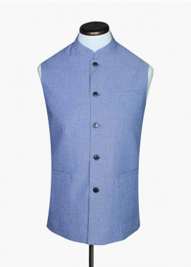 Brumano Cotton Formal Waistcoat for Men -  BRM-1069