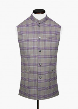 Brumano Cotton Formal Men Waistcoat -  BRM-710
