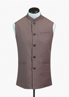 Brumano Cotton Formal Waistcoat for Men -  BRM-719