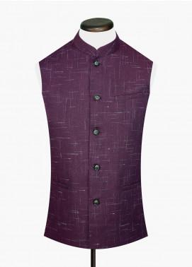 Brumano Cotton Textured Waistcoat for Men -  BRM-801