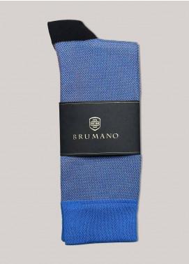 Brumano Cotton Socks BM20CSK Royal Blue Dobby Cotton Socks
