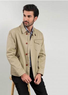 Brumano Cotton Full Sleeves Men Jackets -  BM20WJ Khaki Technical Jacket