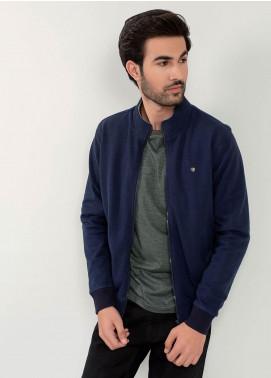 Brumano Cotton Full Sleeves Jackets for Men -  BM20WJ Navy Blue Sporty Jacket