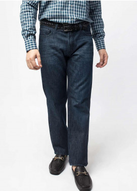 Brumano Cotton Casual Jeans for Men -  BM20WP Blue Stone Washed Jeans