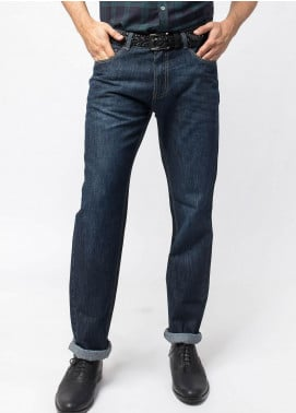 Brumano Cotton Casual Men Jeans -  BM20WP Casual Fit Stone-Washed Jeans