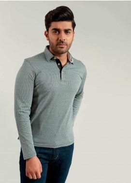 Brumano Cotton Polo Shirts for Mens - Black BM20PW Dark Green Mercerized