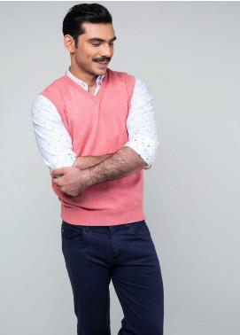 Brumano Cotton Sleeveless V-Neck Sweaters for Men - SL-011