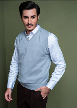 Brumano Cotton Sleeveless Men V-Neck Sweaters - SL-019
