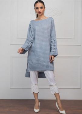 Sheep Casual Cotton Stitched Kurtis SH20CR SB100647 Blue