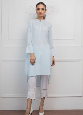 Sheep Casual Cotton Net Stitched Kurtis SH20CR SC100958 Chambray