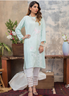 Sheep Casual Cotton Net Stitched Kurtis SH20CR SC300040 MINT