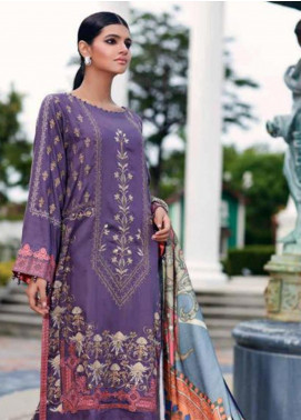 CASHMERE by Charizma Embroidered Viscose Unstitched 3 Piece Suit CRZ19CM 1 - Winter Collection