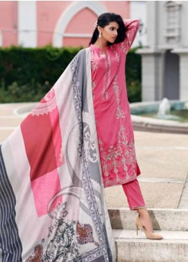 CASHMERE by Charizma Embroidered Viscose Unstitched 3 Piece Suit CRZ19CM 10 - Winter Collection