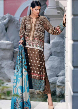 CASHMERE by Charizma Embroidered Viscose Unstitched 3 Piece Suit CRZ19CM 2 - Winter Collection