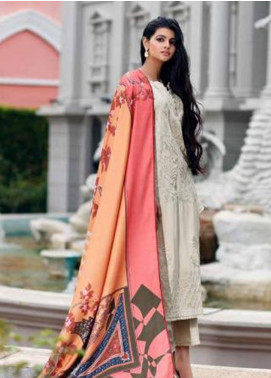 CASHMERE by Charizma Embroidered Viscose Unstitched 3 Piece Suit CRZ19CM 3 - Winter Collection