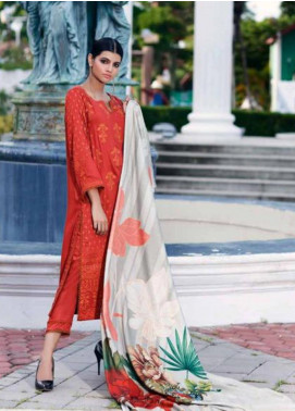 CASHMERE by Charizma Embroidered Viscose Unstitched 3 Piece Suit CRZ19CM 5 - Winter Collection