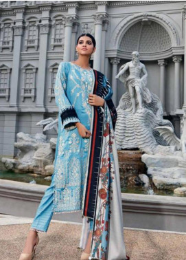 CASHMERE by Charizma Embroidered Viscose Unstitched 3 Piece Suit CRZ19CM 7 - Winter Collection