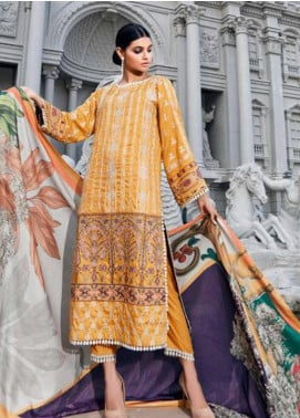 CASHMERE by Charizma Embroidered Viscose Unstitched 3 Piece Suit CRZ19CM 8 - Winter Collection
