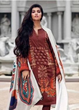 CASHMERE by Charizma Embroidered Viscose Unstitched 3 Piece Suit CRZ19CM 9 - Winter Collection
