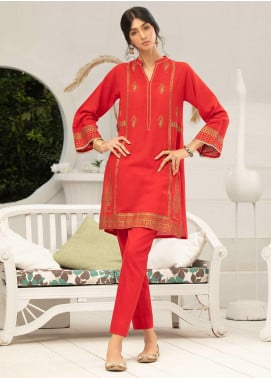 Takhleek By Hijab Omer Embroidered Jacquard Stitched 2 Piece Suit TK20CH DE-003