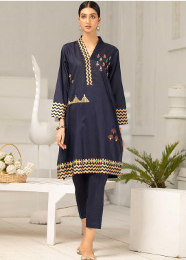 Takhleek By Hijab Omer Embroidered Jacquard Stitched 2 Piece Suit TK20CH DE-004