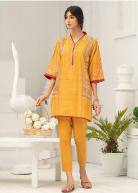 Takhleek By Hijab Omer Embroidered Cambric Stitched 2 Piece Suit TK20CH DE-009