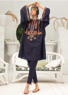 Takhleek By Hijab Omer Embroidered Cambric Stitched 2 Piece Suit TK20CH DE-011