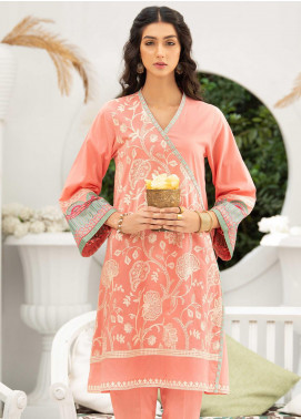 Takhleek By Hijab Omer Embroidered Cambric Stitched 2 Piece Suit TK20CH DE-013