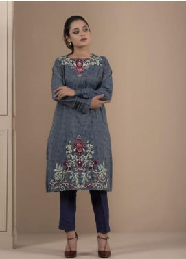 Change Embroidered Cotton Stitched 2 Piece Suit CK2192