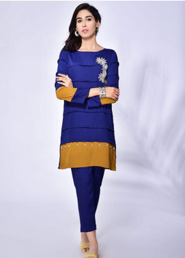 Change Embroidered Crepe Stitched 2 Piece Suit CK2215