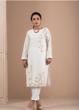 Change Embroidered Cotton Stitched 2 Piece Suit CK2227