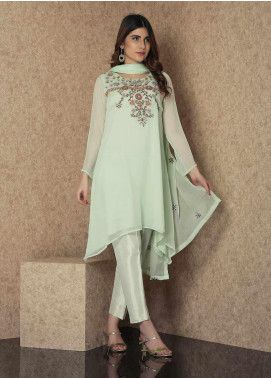 Change Casual Chiffon Stitched 2 Piece Suit CK2243