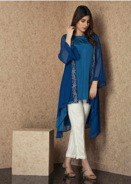 Change Casual Chiffon Stitched Kurties CK2247