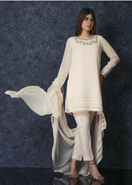 Change Casual Chiffon Stitched 3 Piece Suit CK2289