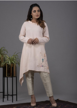 Change Embroidered Crepe Stitched Kurtis CW1832