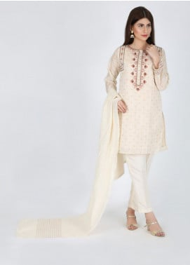 Change Embroidered Jacquard Stitched 3 Piece Suit CK2190