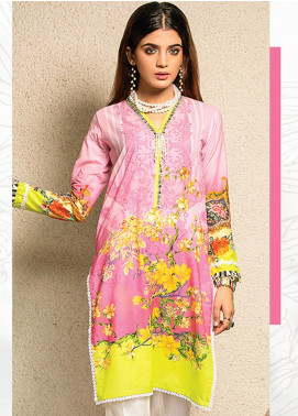 Change Printed Lawn Unstitched Kurties CG20I CL-001 - Spring / Summer Collection