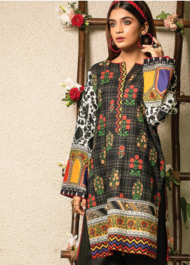Change Printed Lawn Unstitched Kurties CG20I CL-003 - Spring / Summer Collection