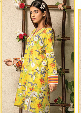 Change Printed Lawn Unstitched Kurties CG20I CL-004 - Spring / Summer Collection