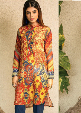 Change Printed Lawn Unstitched Kurties CG20I CL-005 - Spring / Summer Collection