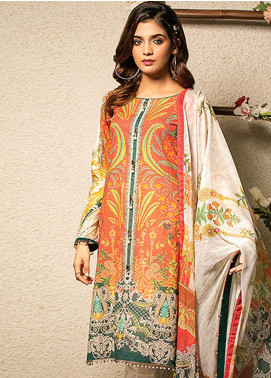 Change Printed Lawn Unstitched 2 Piece Suit CG20I CL-006 - Spring / Summer Collection