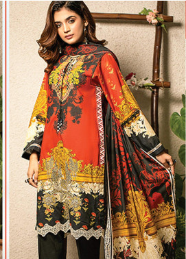 Change Printed Lawn Unstitched 2 Piece Suit CG20I CL-008 - Spring / Summer Collection