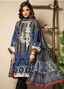 Change Embroidered Lawn Unstitched 2 Piece Suit CG20I CL-009 - Spring / Summer Collection